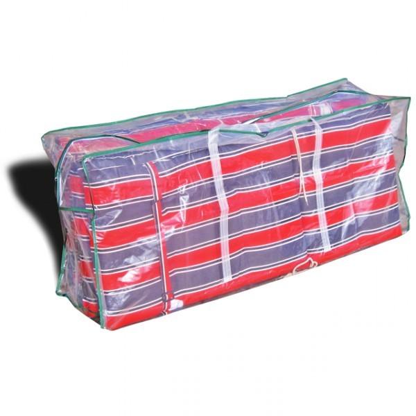Gartenmobel Rattan Weis :  Auflagen 125x32x50cm Schutzhülle Auflagen Auflagenbox – Bild 1