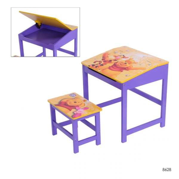 kinder schreibtisch mit hocker disney winnie pooh maltisch baby und kind kinderm bel tische und. Black Bedroom Furniture Sets. Home Design Ideas