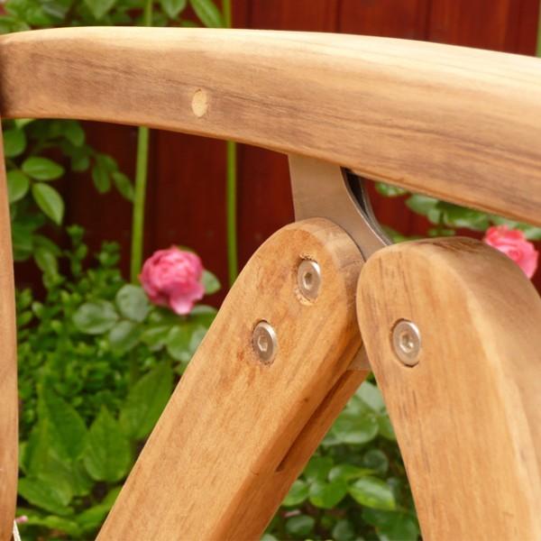 belardo gartenstuhl teak mit rattan teakstuhl rattanstuhl. Black Bedroom Furniture Sets. Home Design Ideas
