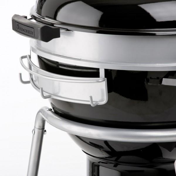 landmann 31341 black pearl comfort kugelgrill 46cm fahrbar. Black Bedroom Furniture Sets. Home Design Ideas