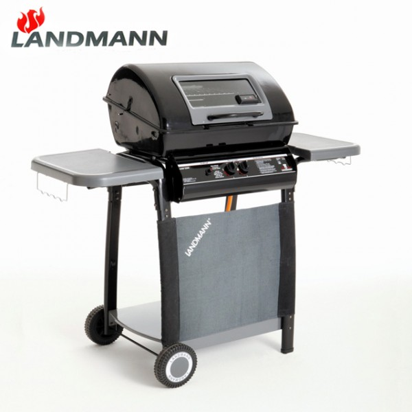 landmann 12398 lavastein gasgrill mit druckminderer grill grillwagen gas top ebay. Black Bedroom Furniture Sets. Home Design Ideas