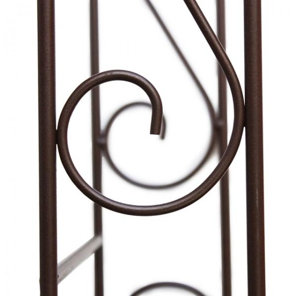 halb rankgitter nostalgischer rosenbogen tor bogen. Black Bedroom Furniture Sets. Home Design Ideas