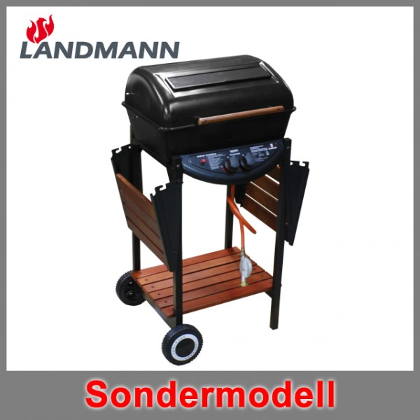 landmann 12391 sondermodell lavastein gasgrillwagen gasgrill grillwagen bbq neu ebay. Black Bedroom Furniture Sets. Home Design Ideas