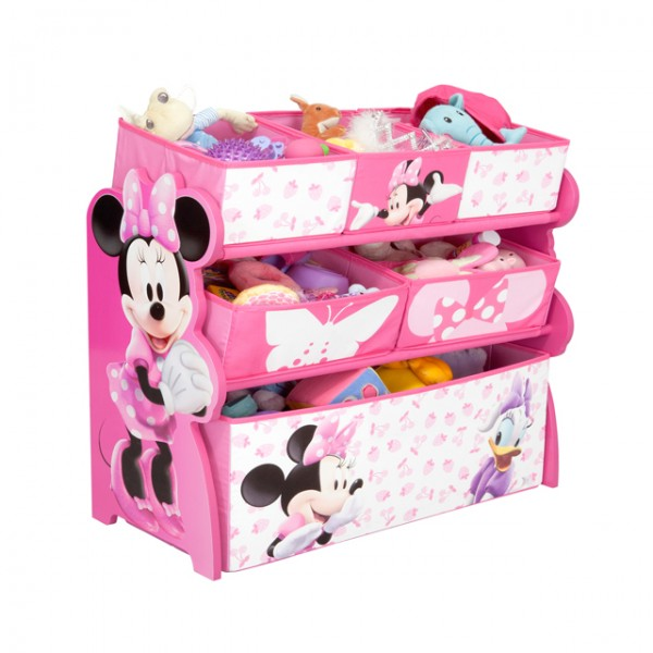 disney minnie mouse multi toy organizer f r spielzeug aus. Black Bedroom Furniture Sets. Home Design Ideas