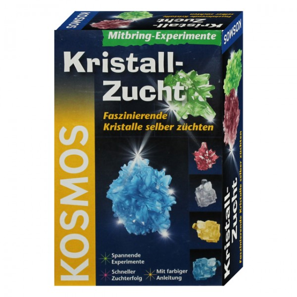 mitbring experimente kristall zucht set von kosmos chemie geologie kristalle neu ebay. Black Bedroom Furniture Sets. Home Design Ideas