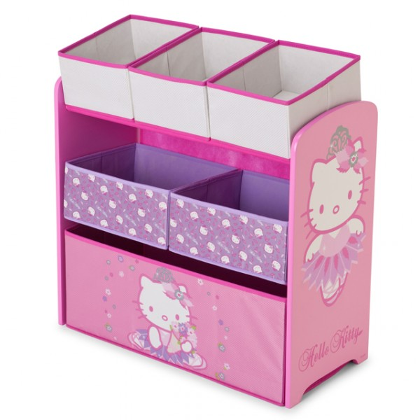 hello kitty multi toy organizer f r spielzeug aus holz. Black Bedroom Furniture Sets. Home Design Ideas