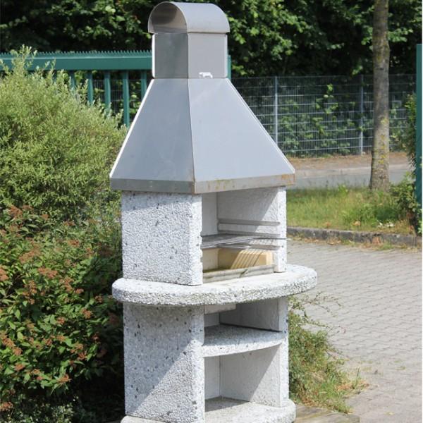 landmann grill kamin stein 193 x 106 x 76 cm 12 formteile grillrost 58 x 30 cm ebay. Black Bedroom Furniture Sets. Home Design Ideas