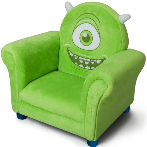 disney monster university gr ner kinder fernsehsessel. Black Bedroom Furniture Sets. Home Design Ideas