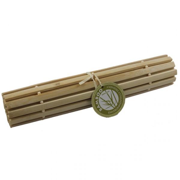 platzset bambus braun creme schwarz platzmatten set. Black Bedroom Furniture Sets. Home Design Ideas
