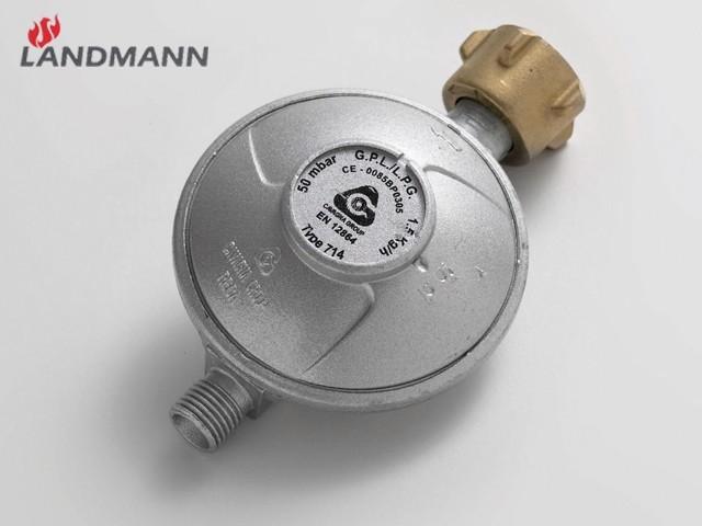 landmann gasgrill druckminderer 1031 50 mbar grill ebay. Black Bedroom Furniture Sets. Home Design Ideas