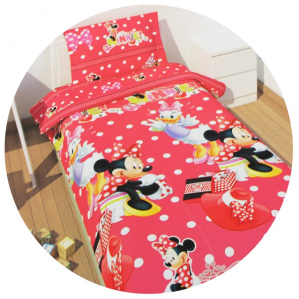 disney kinderbettw sche bettw sche mickey minnie cars princess 135x200 80x80 neu ebay. Black Bedroom Furniture Sets. Home Design Ideas