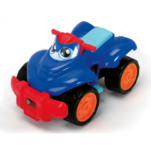 dickie happy quad spielzeug fahrzeug baby ab 1 jahr jungs m dchen freilauf neu spiele und. Black Bedroom Furniture Sets. Home Design Ideas