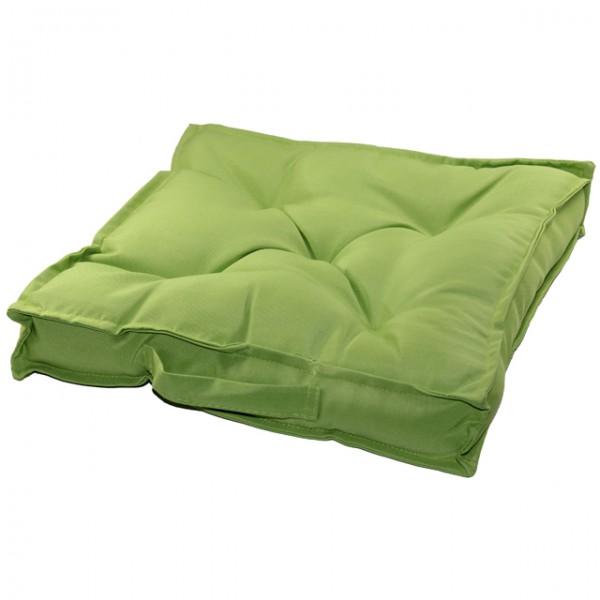 sitzkissen 40x40 polyester gr n braun blau anthrazit trageschlaufe kissen stuhl ebay. Black Bedroom Furniture Sets. Home Design Ideas