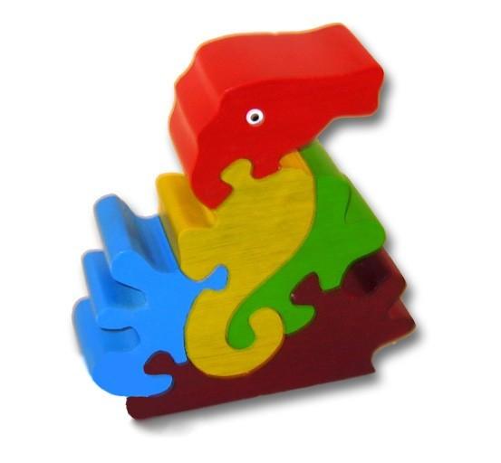 woodbrix 3d holzpuzzle seepferd kinderpuzzle puzzle holz holzspielzeug neu spiele und. Black Bedroom Furniture Sets. Home Design Ideas
