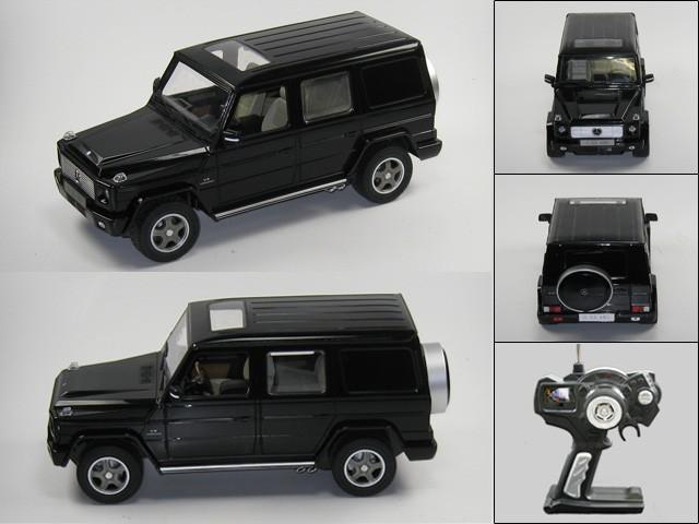 mercedes g55 ferngesteuert rc modellauto 1 14 schwarz. Black Bedroom Furniture Sets. Home Design Ideas