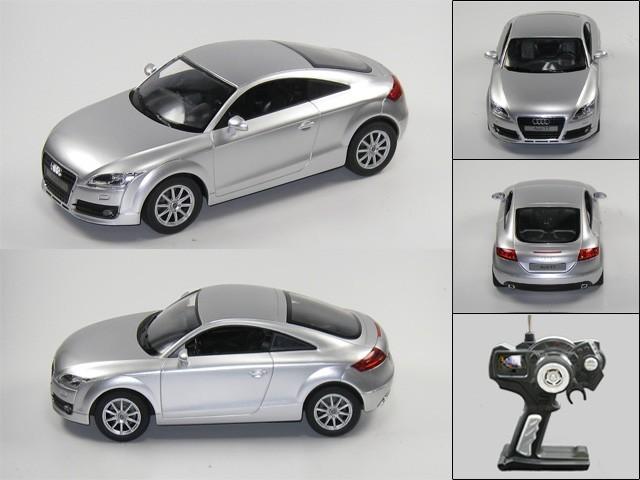 audi tt ferngesteuert rc modellauto silber 1 14 top spiele. Black Bedroom Furniture Sets. Home Design Ideas