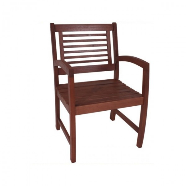 armsessel madison sessel holz gartenstuhl stuhl eukalyptus gartenm bel haus und garten. Black Bedroom Furniture Sets. Home Design Ideas