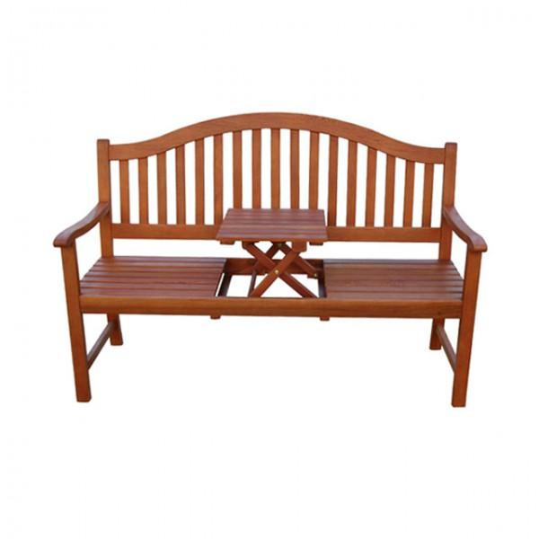 gartenbank phuket 3 sitzer mit tisch sitzbank bank eukalyptus hartholz haus und garten. Black Bedroom Furniture Sets. Home Design Ideas