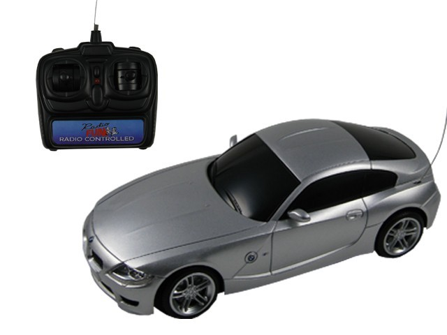 bmw z4 m coupe 1 16 ferngesteuertes auto rc auto silber. Black Bedroom Furniture Sets. Home Design Ideas