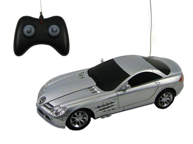 mclaren mercedes slr 1 24 ferngesteuertes auto silber rc. Black Bedroom Furniture Sets. Home Design Ideas