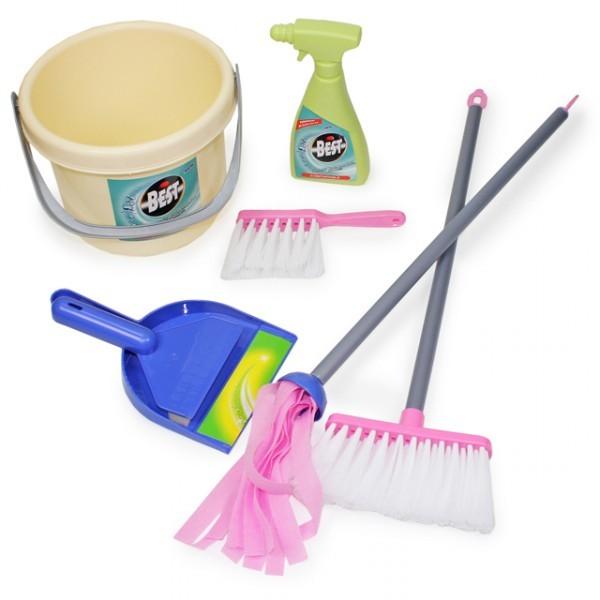 Reinigungsset für kinder spielzeug putzset teile