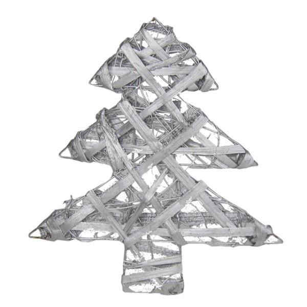 deko tannenbaum silber 30cm weihnachtsbaum weihnachtsdeko fenster fensterdeko feste und. Black Bedroom Furniture Sets. Home Design Ideas