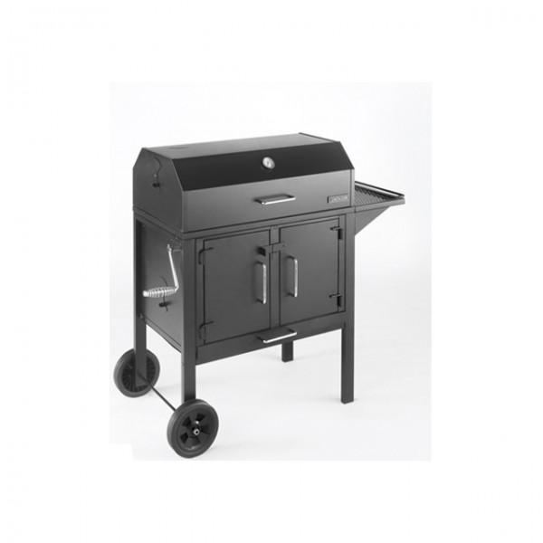 landmann grill 11421 black dog b ware holzkohle grillwagen. Black Bedroom Furniture Sets. Home Design Ideas