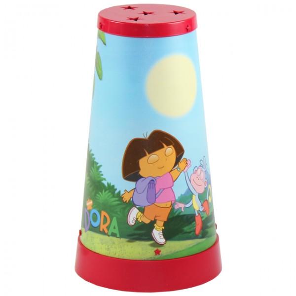dora kinderlampe tischlampe nachtlicht nachttischlampe kinderzimmer lampe beleuchtung. Black Bedroom Furniture Sets. Home Design Ideas