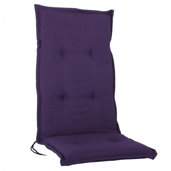 naxos hochlehner auflagen 6cm kissen polster lila gartenstuhl haus und garten garteneinrichtung. Black Bedroom Furniture Sets. Home Design Ideas