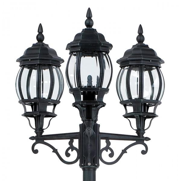 beleuchtung aussenbeleuchtung wegeleuchte aluminium kandelaber manchester flammig gruen patina. Black Bedroom Furniture Sets. Home Design Ideas