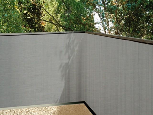 Sichtschutz Kunststoff Riva : Sichtschutzzaun Grau Kunststoff  Sichtschutz Kunststoff