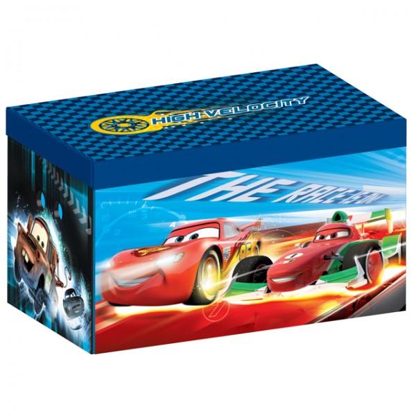 disney cars toy box canvas aufbewahrungsbox spielzeugkiste f r kinder baby und kind kinderzimmer. Black Bedroom Furniture Sets. Home Design Ideas
