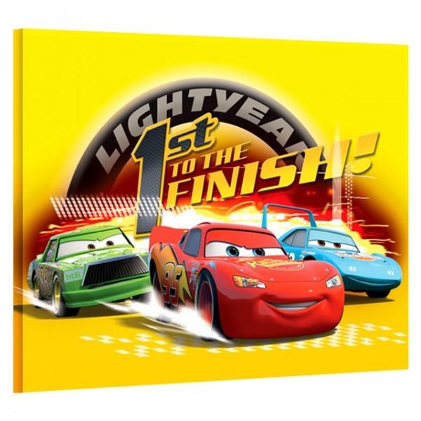 2er set disney cars bilder auf keilrahmen 40x30 - Disney cars kinderzimmer ...