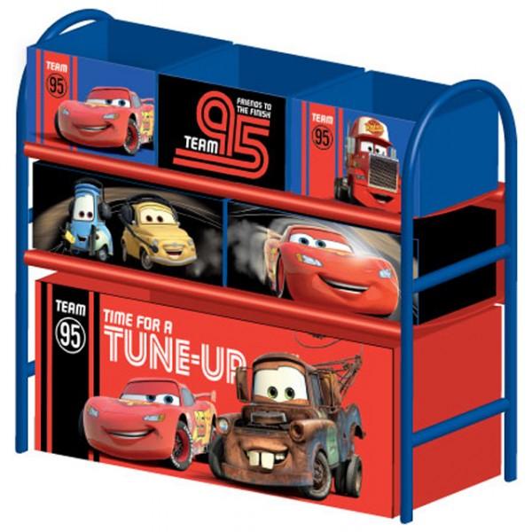 Multi toy organizer cars mit fächern und metallgestell