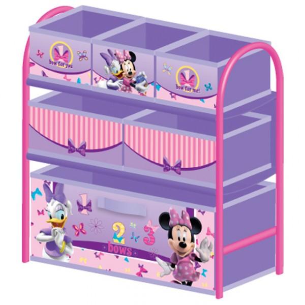 Multi toy organizer minnie mouse mit fächern und