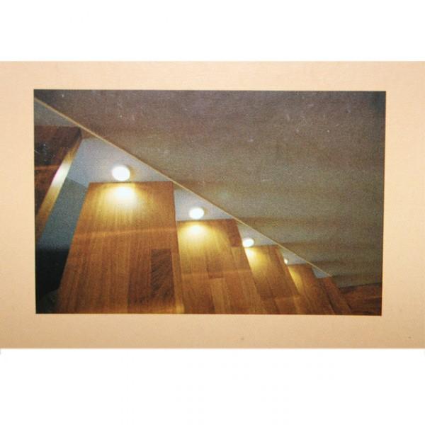 led 3er set disk leuchte lampe treppenleuchte schranklampe schrank rund beleuchtung. Black Bedroom Furniture Sets. Home Design Ideas