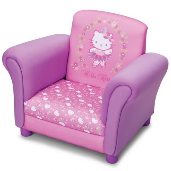 hello kitty pinker sessel f r kinderzimmer kindersessel kinder fernsehsessel baby und kind. Black Bedroom Furniture Sets. Home Design Ideas