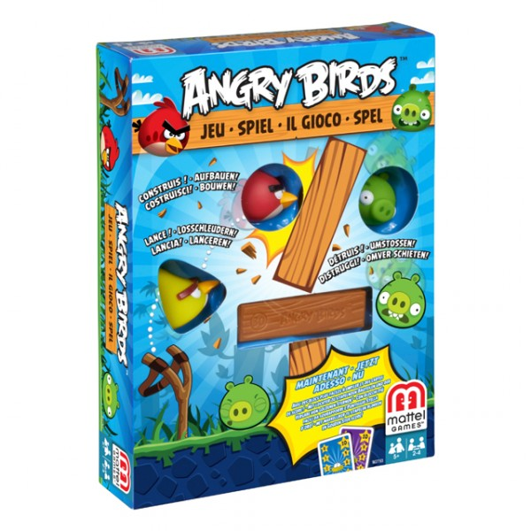 mattel w2793 angry birds spiel holzt rme schweine v gel. Black Bedroom Furniture Sets. Home Design Ideas