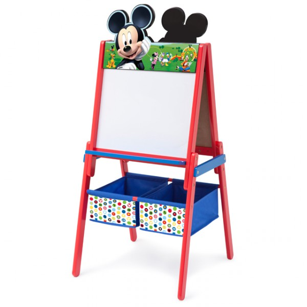 disney mickey mouse 2in1 kindertafel kreidewand und. Black Bedroom Furniture Sets. Home Design Ideas