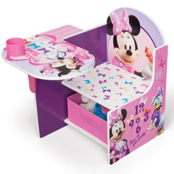 disney minnie mouse sitzbank bank tisch stuhl aufbewahrung 3in1 sitzpult m bel baby und kind. Black Bedroom Furniture Sets. Home Design Ideas