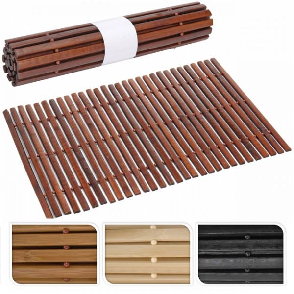 platzset bambus holz platzdeckchen platzmatten braun creme schwarz dunkelbraun set esstisch. Black Bedroom Furniture Sets. Home Design Ideas