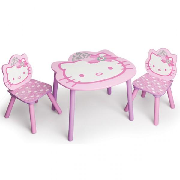 hello kitty sitzgruppe 60x60 cm stuhl tisch. Black Bedroom Furniture Sets. Home Design Ideas