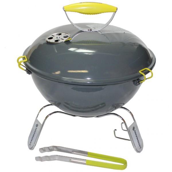 landmann picolino grill grau kugelgrill kohlegrill kohle inkl grillzange rund neu haus und. Black Bedroom Furniture Sets. Home Design Ideas