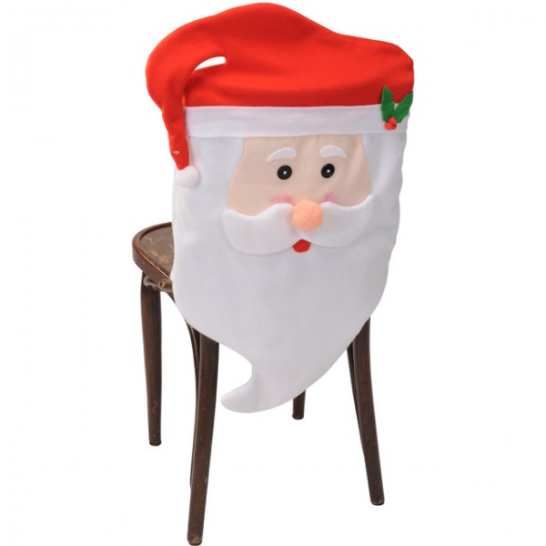 santa claus sitzbezug stuhlbezug stuhl berzug weihnachten. Black Bedroom Furniture Sets. Home Design Ideas