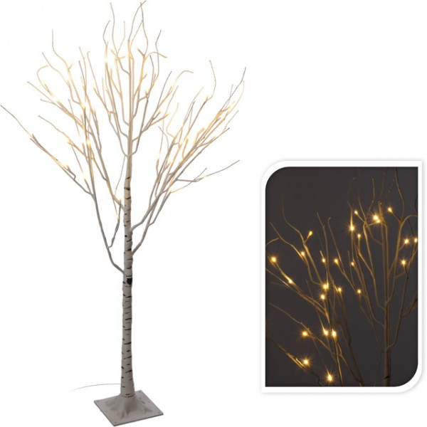 schattenbildbaum lichterbaum birke design baum beleuchtet 120 cm 48 leds outdoor neu beleuchtung. Black Bedroom Furniture Sets. Home Design Ideas