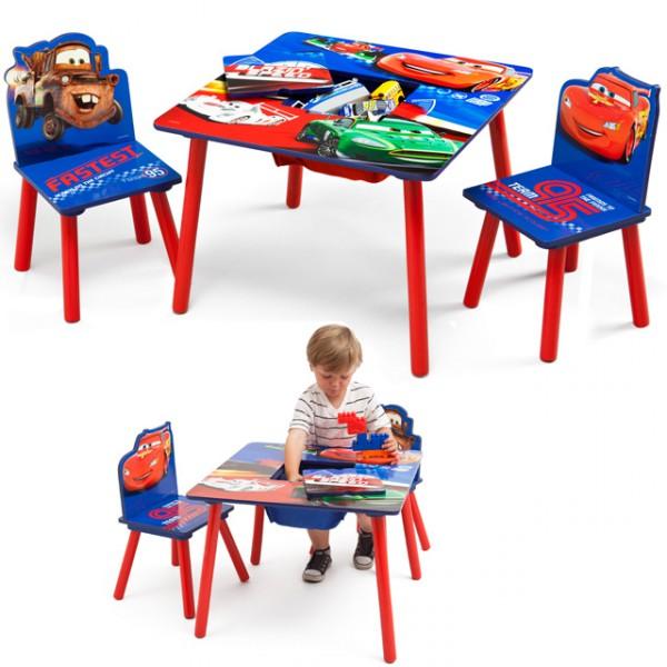 disney kindersitzgruppe cars tisch 2 st hle netz sitzgruppe aufbewahrung maltisch kinderm bel. Black Bedroom Furniture Sets. Home Design Ideas
