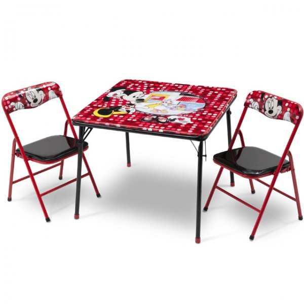 disney minnie mouse kindersitzgruppe sitzgruppe klapptisch klappstuhl kinderm bel tisch 2. Black Bedroom Furniture Sets. Home Design Ideas