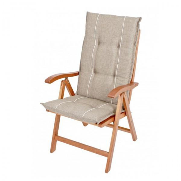 Gartenmobel Tisch Klappbar :  anthrazit creme beige Polsterauflagen Stuhl Auflagen Kissen – Bild 3