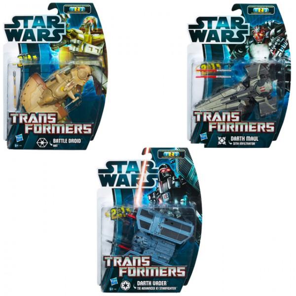 Hasbro star wars 37767 2in1 transformers darth maul darth for Badezimmer 94 spiel