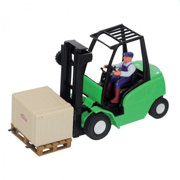 Dickie cargo master gabelstapler palette ware box for Badezimmer 94 spiel